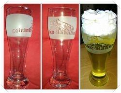 "Weizenbierglas ""Bahnhof"""